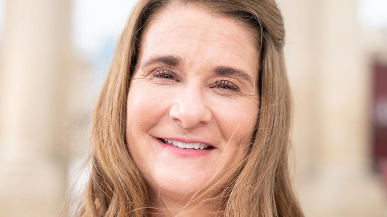 Melinda Gates souriant