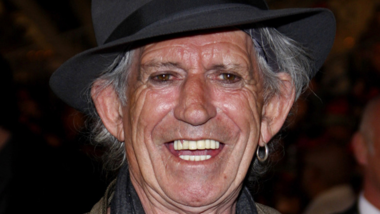 Le visage de Keith Richards