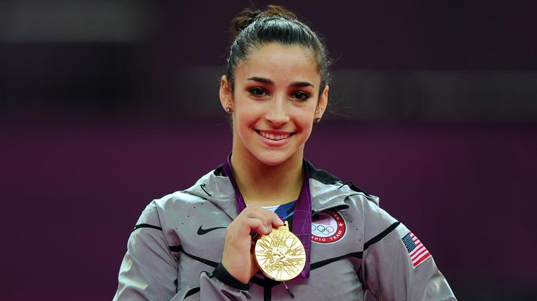 Aly Raisman aux Jeux olympiques de 2012
