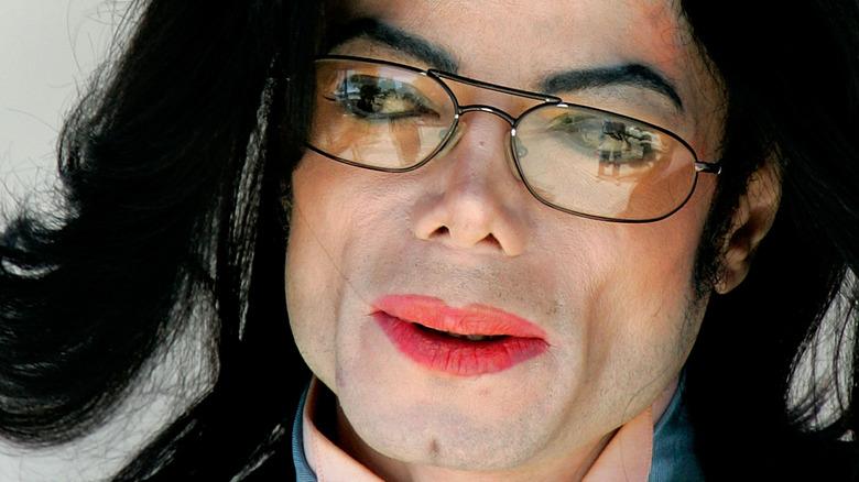 Michael Jackson de près