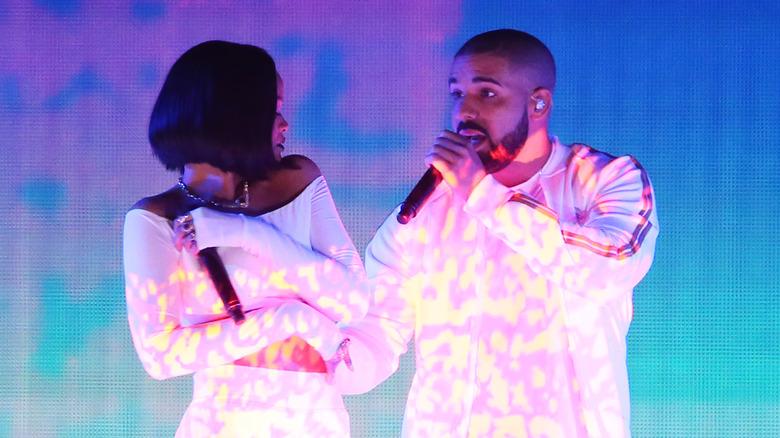 Rihanna et Drake en spectacle