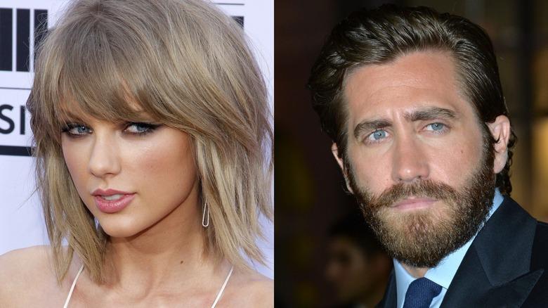 Taylor Swift et Jake Gyllenhaal regardent
