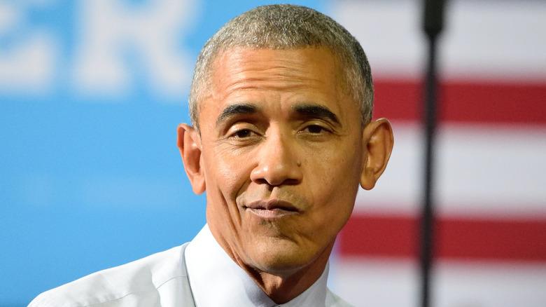 Barack Obama fait la grimace