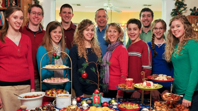 La famille Burnett à Noël