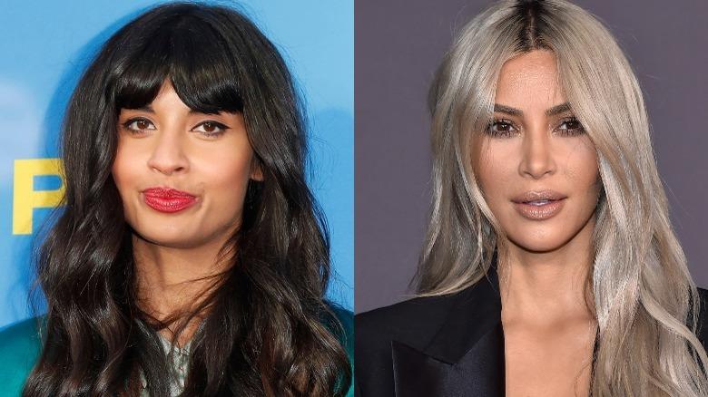 Jameela Jamil et Kim Kardashian