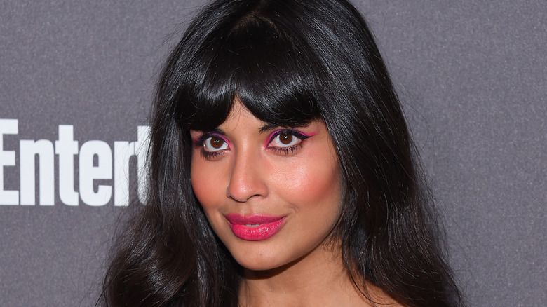 Jameela Jamil lors d'un événement