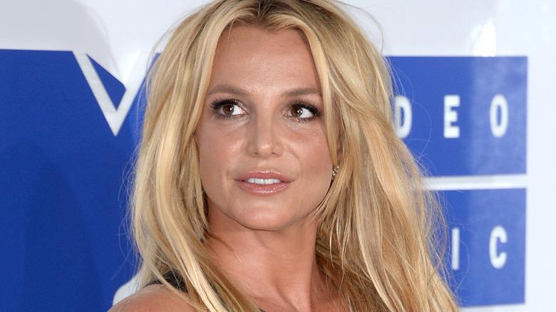 cheveux longs de Britney Spears