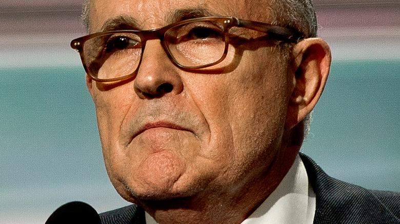 Rudy Giuliani bouleversé