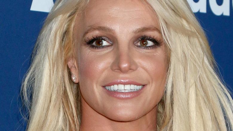 Britney Spears souriante