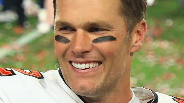 Tom Brady souriant