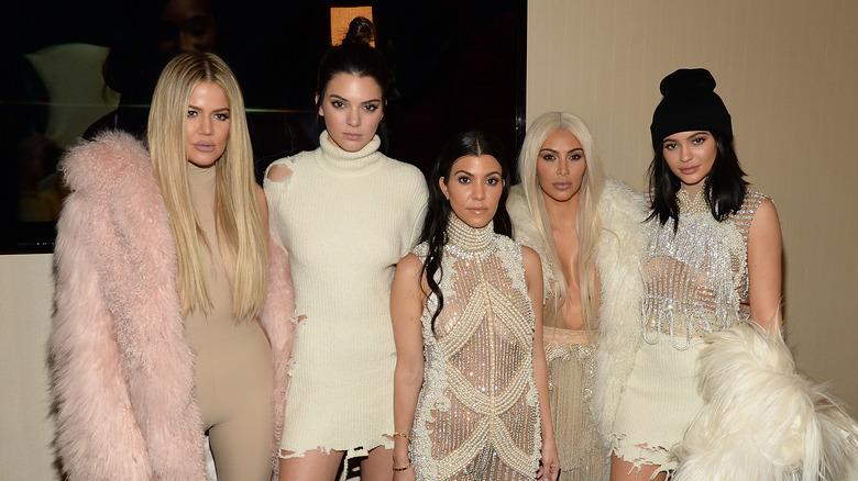 Les Kardashian-Jenner souriantes