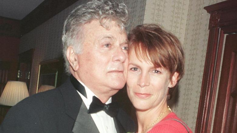 Tony et Jamie Lee Curtis en 1998.
