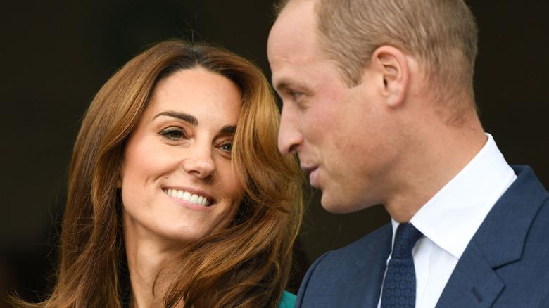 Kate Middleton et le prince William posent